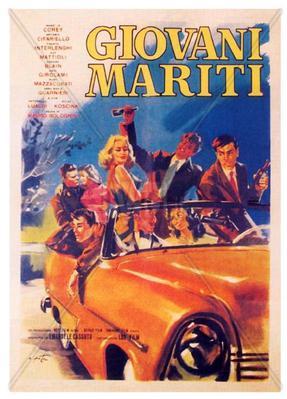 Les Jeunes Maris - Poster - Italy