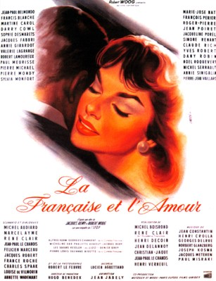 Love and the French Woman - Poster France