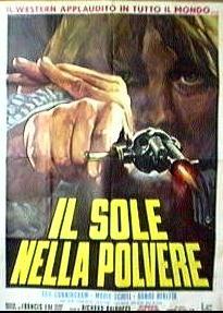 Dans la poussière du soleil - Poster Italie
