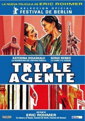 Triple agent / 三重スパイ - Poster Argentine