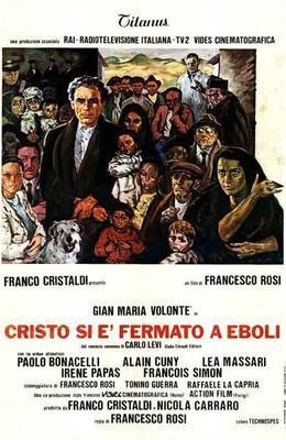 Cristo se paró en Éboli - Poster - Italy