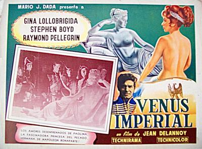 Vénus impériale - Affiche américaine