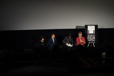 French films and Japanese audiences at the Tokyo Film Festival - Michel Leclerc rencontre le publc japonais