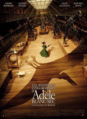 Adèle y el misterio de la momia - Poster France - 1