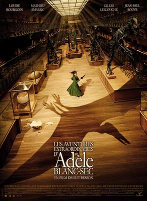 Les Aventures extraordinaires d'Adèle Blanc-Sec - Poster France - 1