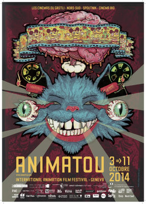 Festival international du film d'animation de Genève (Animatou) - 2014