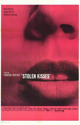 Besos robados - Poster Royaume-Uni