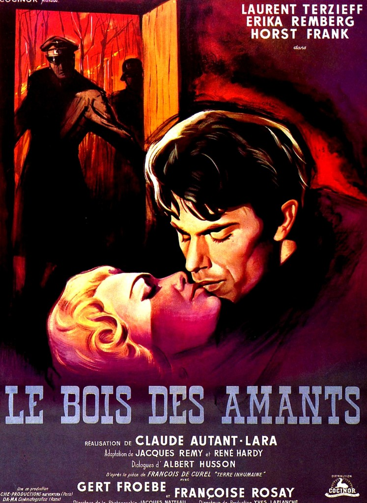 恋人たちの森 - Poster France