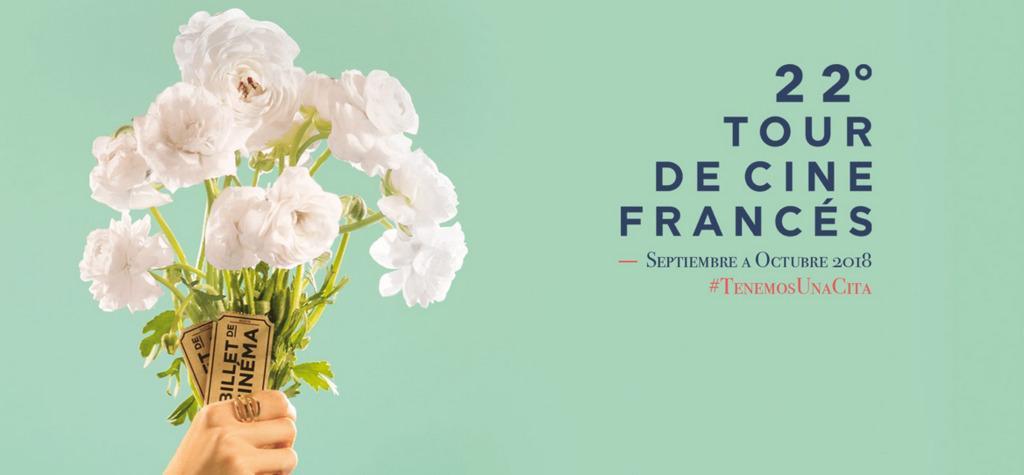 22ª edición de la Gira del Cine Francés, ¡el mayor festival de cine francés del mundo!