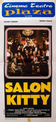 Salon Kitty (Les Nuits chaudes de Berlin) - Poster Italie