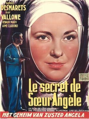 Le Secret de Soeur Angèle - Poster Belgique