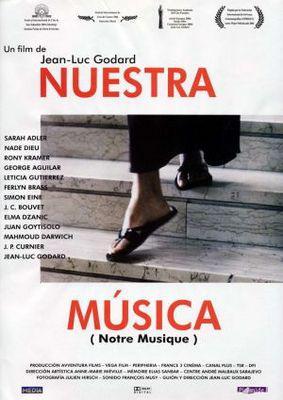 Notre musique - Poster Espagne