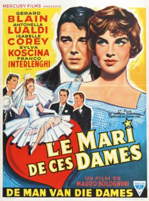 Les Jeunes Maris - Poster - Belgique