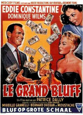 The Big Bluff - Poster - Belgium