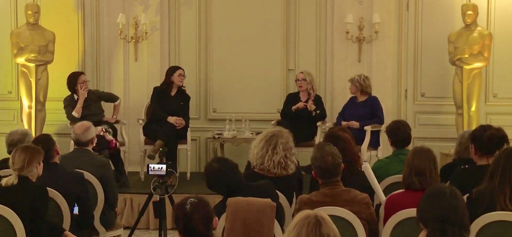 """Action! Women in Films"": Two roundtables held during the Oscar Days event in Paris"