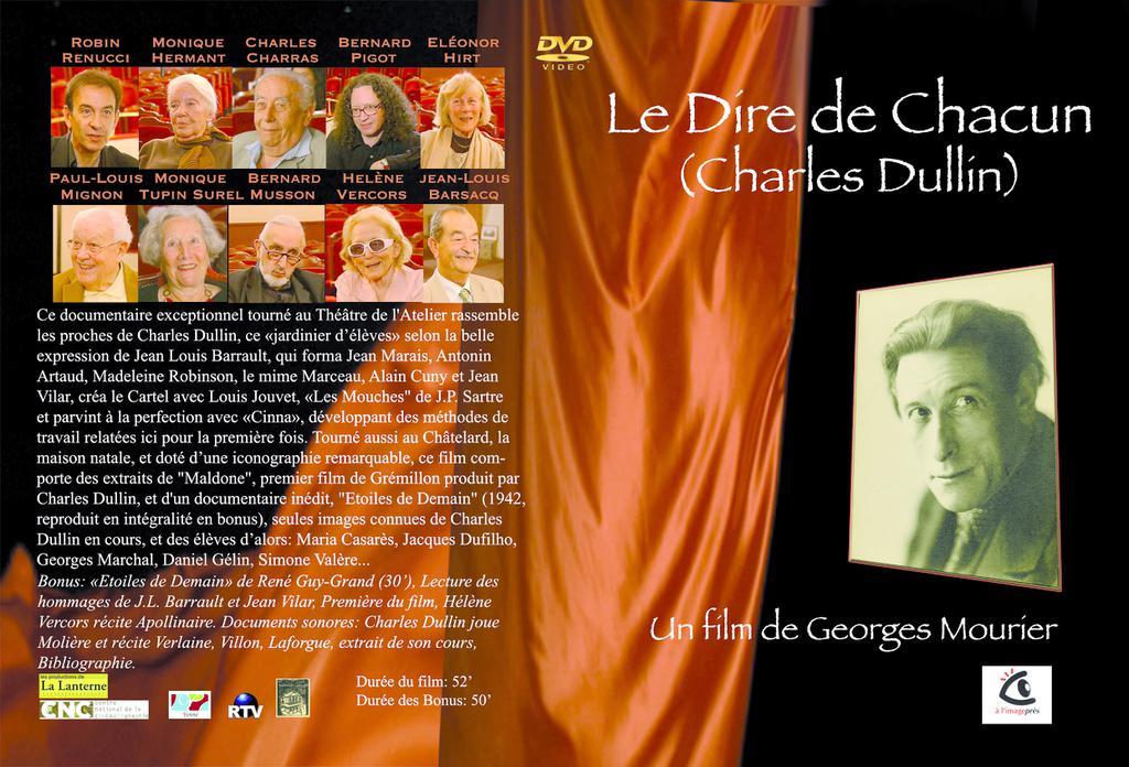 Le Dire de chacun (Charles Dullin)
