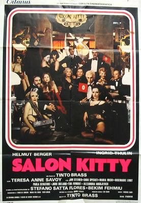 Salon Kitty - Poster Italie
