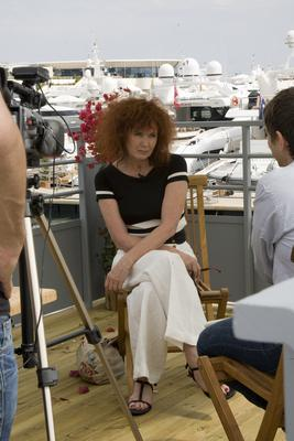 Club Unifrance activities in pictures: Part 1 - Sabine Azema en interview - © Laurent Koffel @ Visual