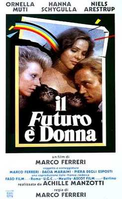 The Future Is Woman - Poster Italie
