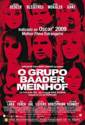 バーダー・マインホフ 理想の果てに - Poster - Brazil - © Imagem Filmes