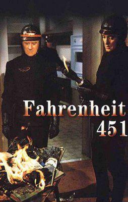 華氏451 - Poster Belgique