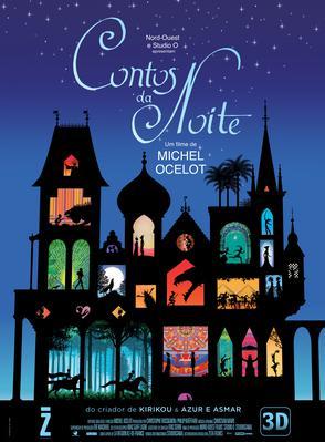 Tales of the Night/夜のとばりの物語 - Poster - Brazil