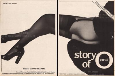 Story of O 2 - Pavé presse Etats-Unis