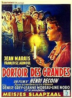 Dortoir des grandes - Poster Belgique