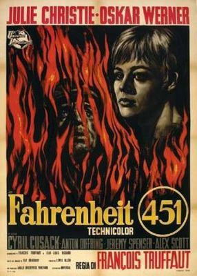 Fahrenheit 451 - Poster Italie
