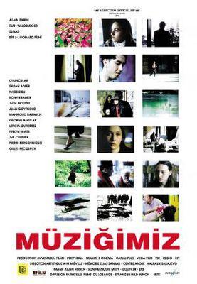 Notre musique / アワーミュージック - Poster Turquie