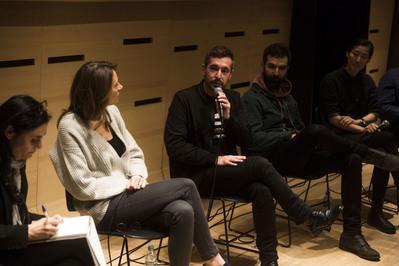 Efeméride - Xavier Legrand au talk - © Thomas Brunot/UniFrance