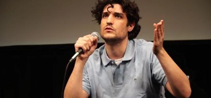 Louis Garrel at the Lincoln Film Center, New York, March 2016