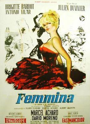 La Femme et le pantin - Affiche Italie