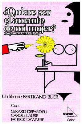 ¿Quiere ser el amante de mi mujer? - Poster Espagne