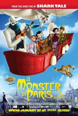 A Monster in Paris - Poster - UK