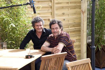 Club Unifrance activities in pictures: Part 1 - Arnaud et Jean-Marie Larieu en interview - © Laurent Koffel @ Visual