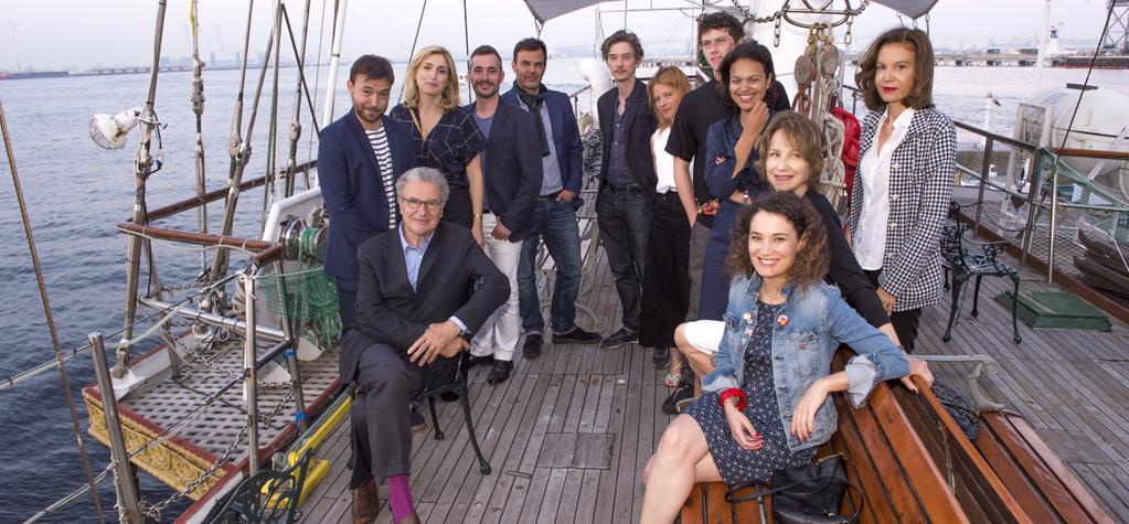 June 22: Day 2 of the Festival - Tous à bord de l'Ocean's Princess!