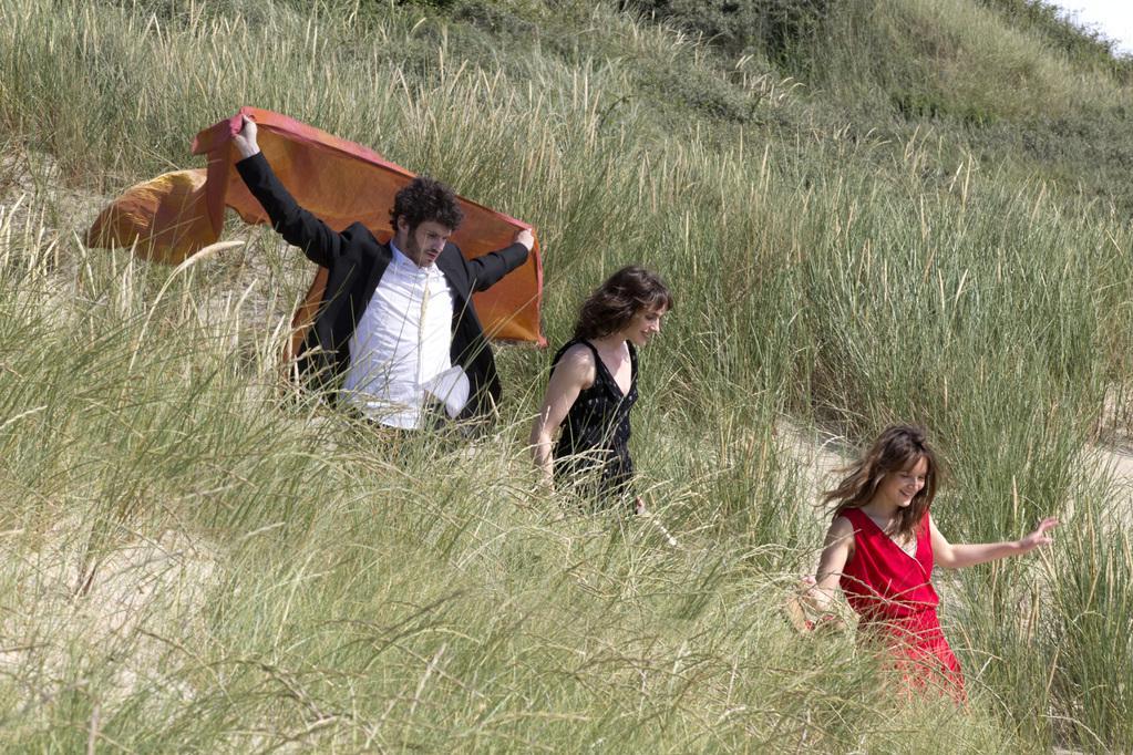 Félix Moati, Sophie Verbeeck et Anaïs Demoustier