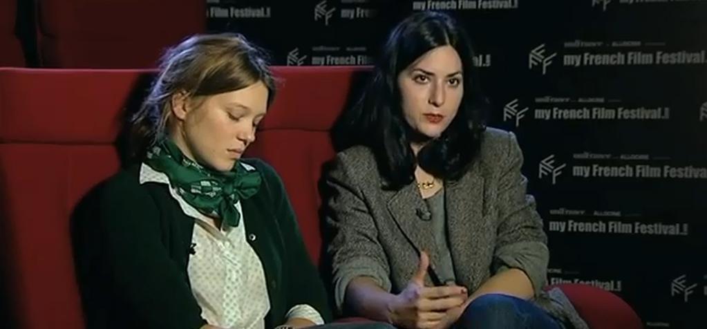 Interview Rebecca Zlotowski / Léa Seydoux
