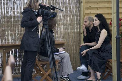 クラブユニフランス - Ronit et Shlomi Elkabetz en interview - © Laurent Koffel @ Visual