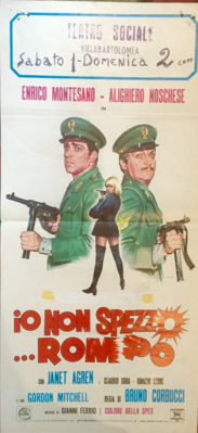 Deux trouillards pistonnés - Poster - Italie