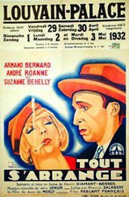 Janine Mirande - Poster Belgique