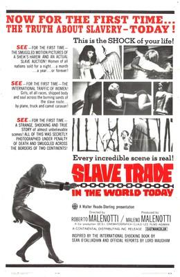 Slave Trade in the World Today - Poster - US