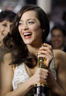 2008 under the sign of the Ch'tis - Marion Cotillard et son oscar - © Ap/ Chris Carlson