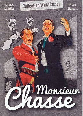 Monsieur chasse - Jaquette DVD France