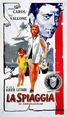 La Spiaggia (Redención de una mujer) - Poster - Italie