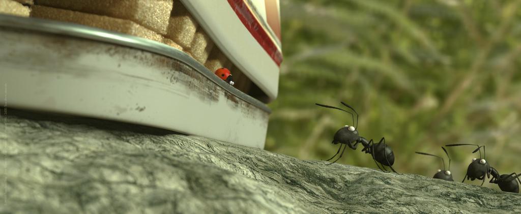 Minuscule – La Vallée des fourmis perdues - © Mmxiii-Futurikon Films-Entre Chien et Loup-Nozon Paris-Nozon Sprl