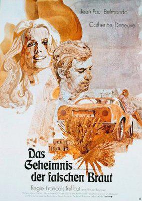 La Sirène du Mississipi - Poster Allemagne