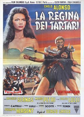 La Reine des Barbares - Italy