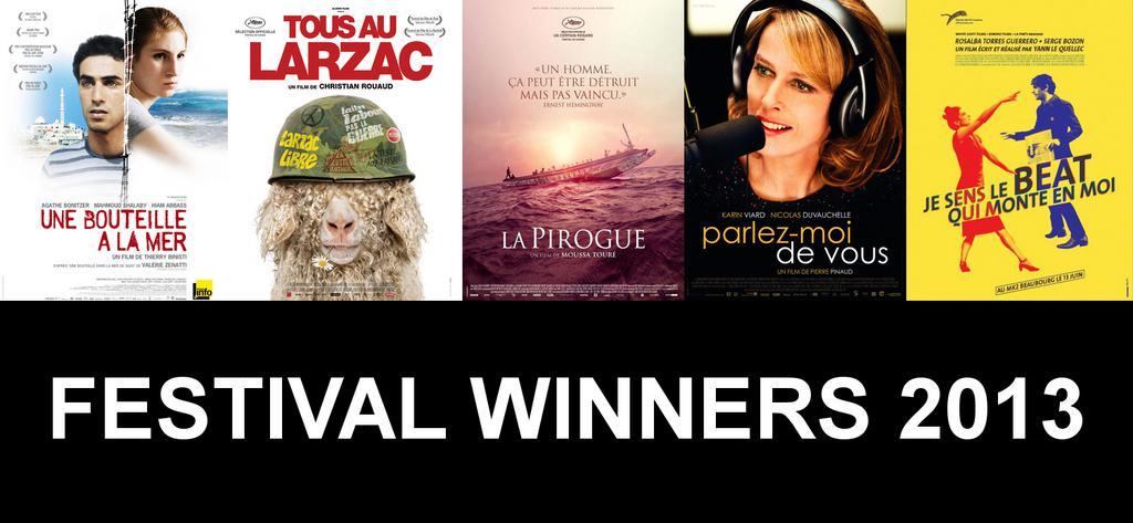 2013 MyFrenchFilmFestival.com: Award winners!